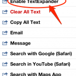 """Enable TextExpander"" Assist機能を実行しよう"