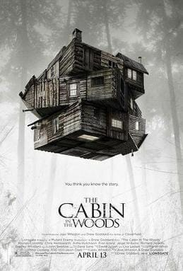 The Cabin in the Woods 2012 theatrical poster
